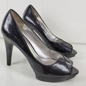 """Carlos Santana open toe 4.5"""" heels"""